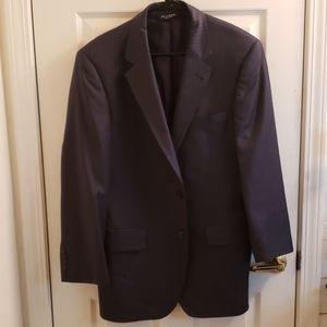 Jo's A Bank Dark Gray Blazer Pinstriped Size 40R